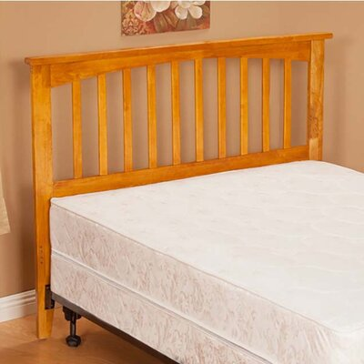 Piper Slat Headboard Finish: Caramel Latte, Size: Full