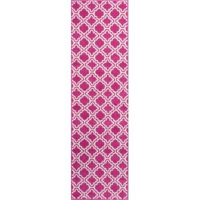 Juliet Calipso Pink Area Rug Rug Size: Runner 2 x 73