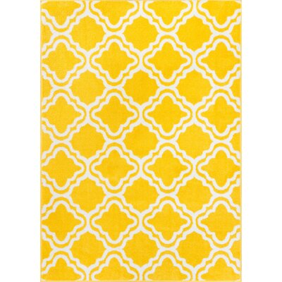 Juliet Calipso Yellow Area Rug Rug Size: 33 x 5