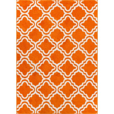 Juliet Calipso Orange Area Rug Rug Size: 710 x 106