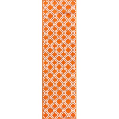 Juliet Calipso Orange Area Rug Rug Size: Runner 2 x 73