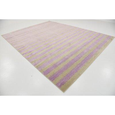 Fabio Lavender Area Rug Rug Size: 6 x 9