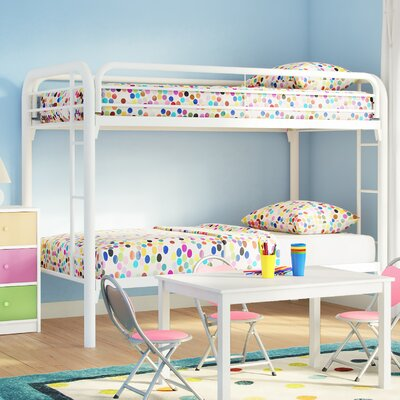 Shiloh Twin Bunk bed Color: White