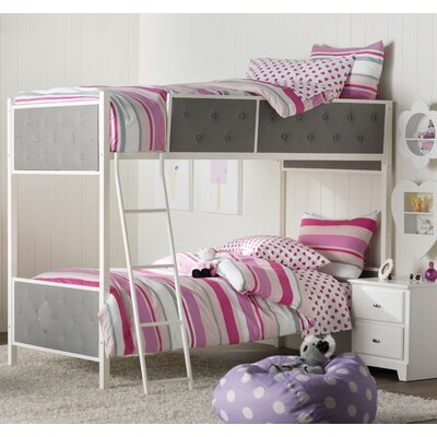 Sistine Rose Twin over Twin Bunk Bed