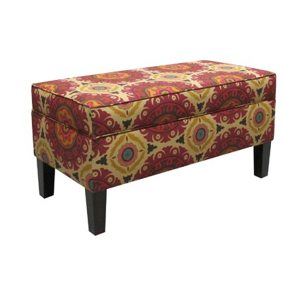 Vince Storage Ottoman Color: Henna