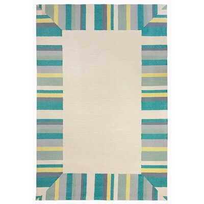 Misty Traditional Hand-Tufted Beige Indoor/Outdoor Area Rug Rug Size: 2 x 3