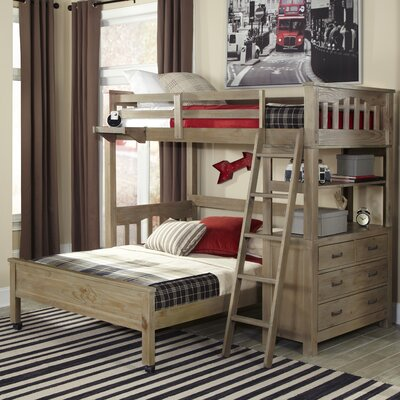 Gisselle Loft Bed Size: Twin, Finish: Driftwood
