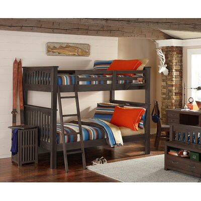 Gisselle Bunk Bed Finish: Espresso, Size: Full over Full