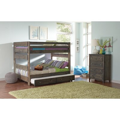 Malina Youth Full Bunk Bed with Trundle