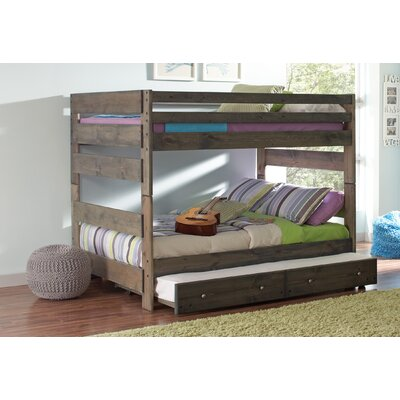 Malina Youth Full over Full Bunk Bed with Trundle
