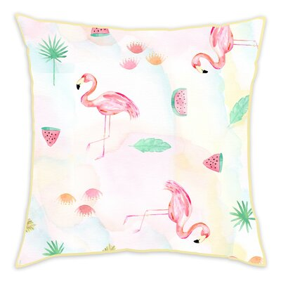 Evangeline Cotton Throw Pillow