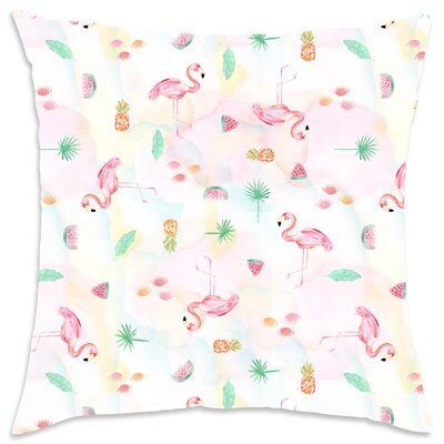 Evangeline Cotton Throw Pillow
