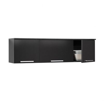 Oleanna Wall-Mounted Display Stand Finish: Black