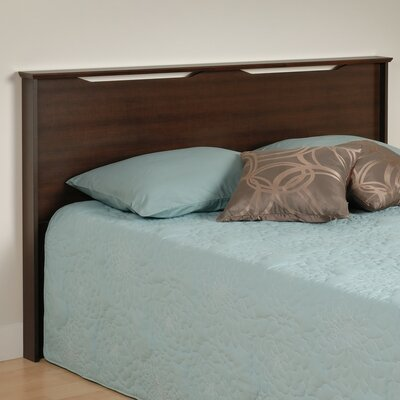 Oleanna Wood Full/Queen Headboard Color: Espresso