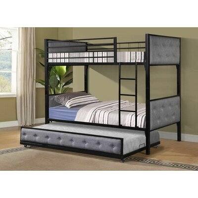 Alberto Trundle Unit Finish: Black/Gray