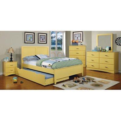 Alejandra Twin Trundle Color: Lemon Yellow