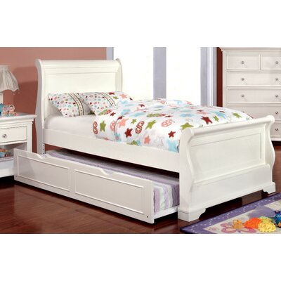 Frances Sleigh Bed Size: Twin