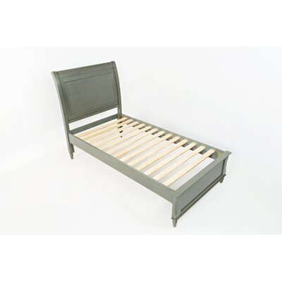 Glenburn Wood Bed Frame Color: Grey