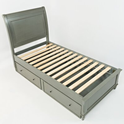 Glenburn Bed Frame Color: Grey