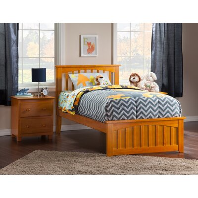 Rhonda Panel Bed Size: Twin XL, Finish: Caramel Latte