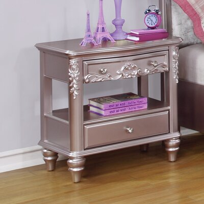 Whitney 1 Drawer Nightstand