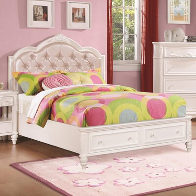 Whitney Upholstered Storage Platform Bed Size: Full