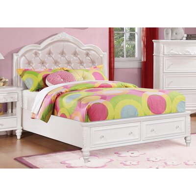 Whitney Upholstered Storage Platform Bed Size: Twin