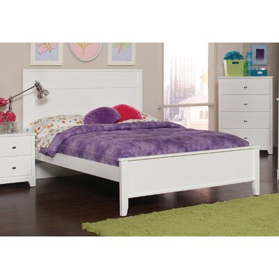 Skylar Full/Double Platform Bed Finish: White