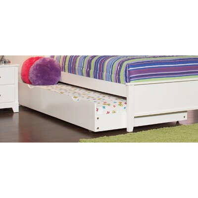 Skylar Trundle Unit Color: White