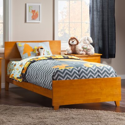 Greyson Panel Bed Size: Full, Color: Caramel Latte