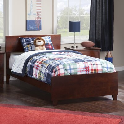 Greyson Panel Bed Size: Twin, Finish: Walnut