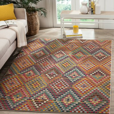 Area Rug Rug Size: Rectangle 3 x 5