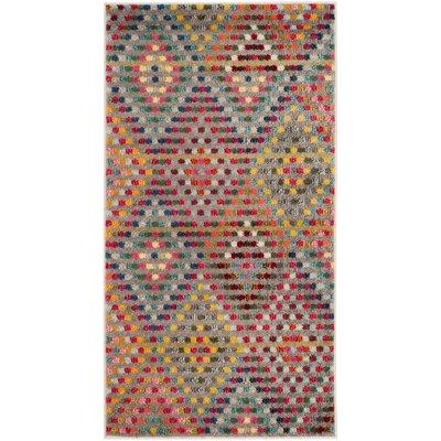 Beige Area Rug Rug Size: 22 x 4