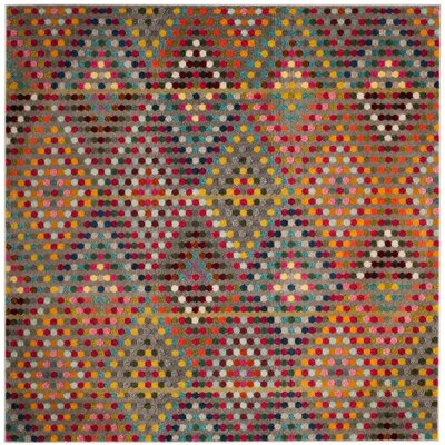 Area Rug Rug Size: Square 67