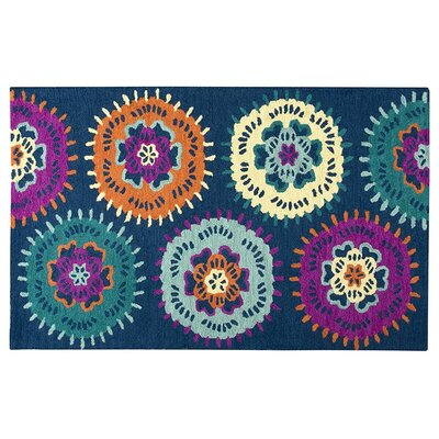 Raquel Hand-Tufted Navy Kids Rug