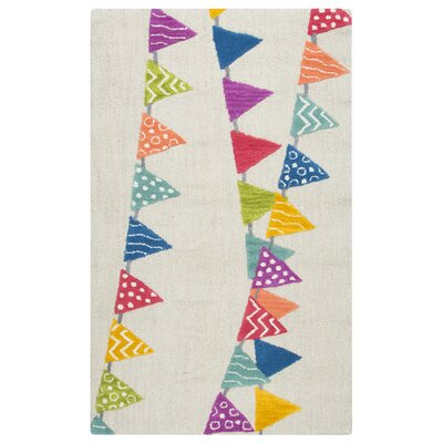 Raquel Hand-Tufted Blue/Purple Kids Rug