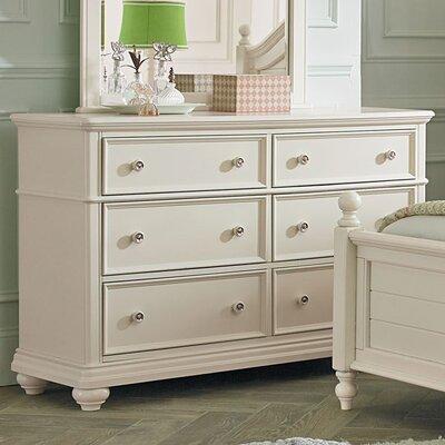 Adele 6 Drawer Standard Dresser