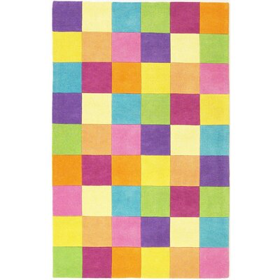Shari Girls Blocks Area Rug Rug Size: Rectangle 33 x 53