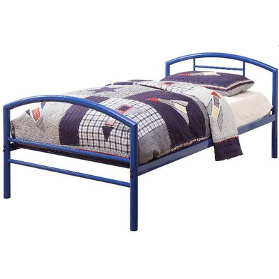 Makenna Twin Platform Bed Finish: Blue