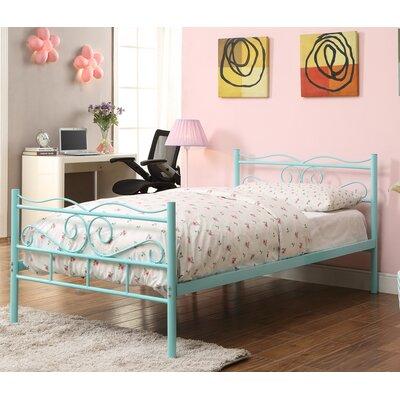 Francesca Twin Platform Bed Finish: Mint