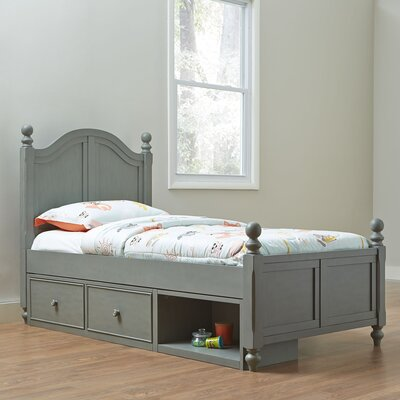 Javin Contemporary Wood Bed