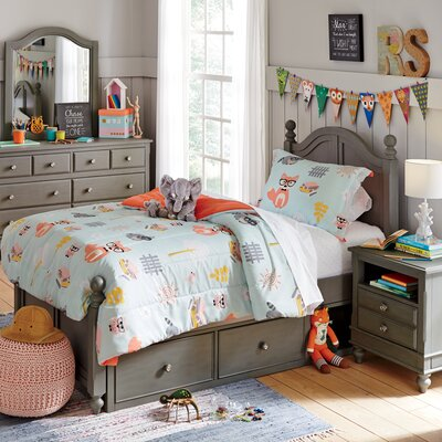 Javin Kids Full Panel Bed Size: Twin
