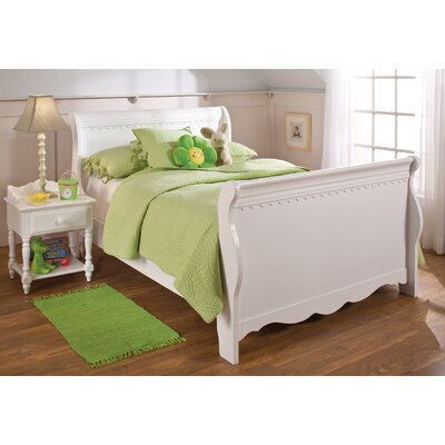 Portia Sleigh Bed Size: Twin