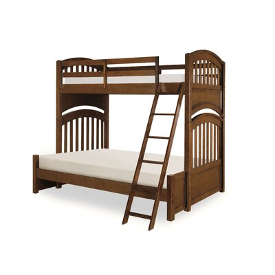Hannah Twin over Full Bunk Bed Finish: Cinnamon