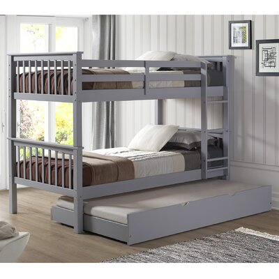 Everly Twin Trundle Finish: Gray