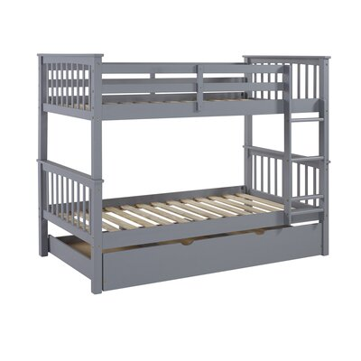 Birch Lane Twin Over Twin Bunk Bed With Trundle
