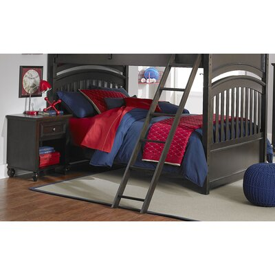 Hannah Twin over Twin Bunk Bed Bottom Color: Molassess