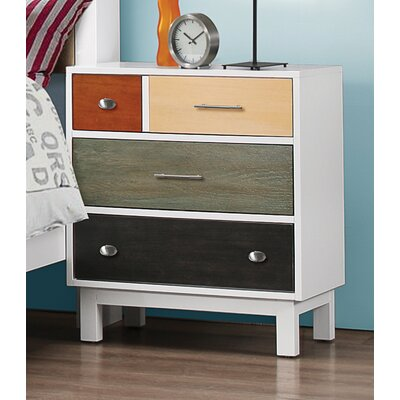 Sallie 3 Drawer Nightstand