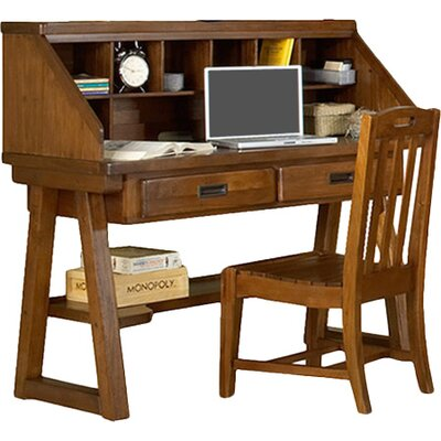 Catoe Writing Desk with Hutch 5EF7B5AB8F2846ED9CDB3A8000F5007D