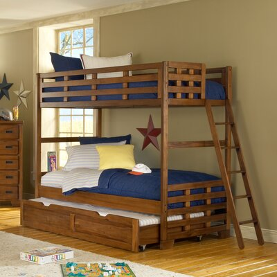 Noemi Twin Bunk Bed in Spice Brown